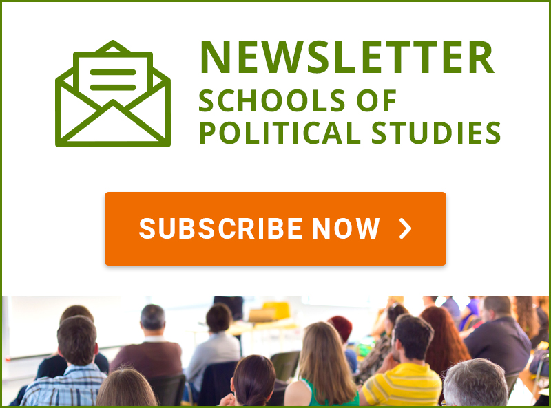 Subscribe to Schools of Political Studies newsletter