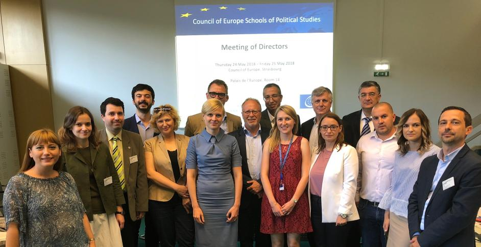 The Directors of the Schools of Political Studies held their Spring meeting