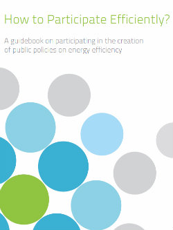 "How to participate efficiently (Guidebook published by ""Public Dialogue on the Sustainable Use of Energy in South-East Europe"" Initiative)"