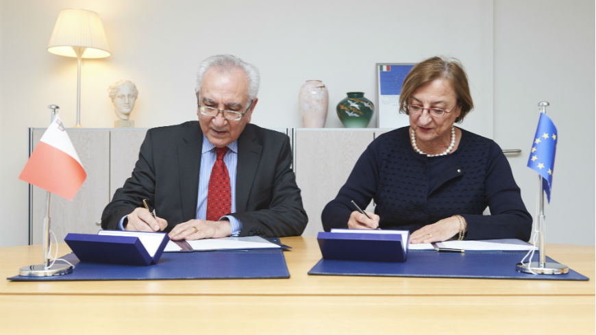 Malta makes a voluntary contribution
