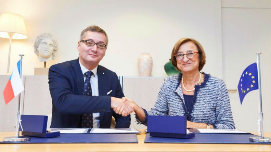 Czech Republic makes a voluntary contribution