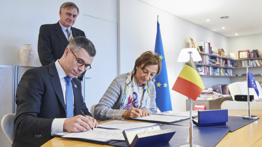 Belgium makes a voluntary contribution