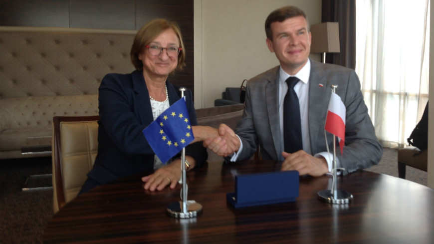 Poland makes a voluntary contribution