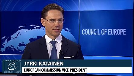 Commissioner Jyrki Katainen