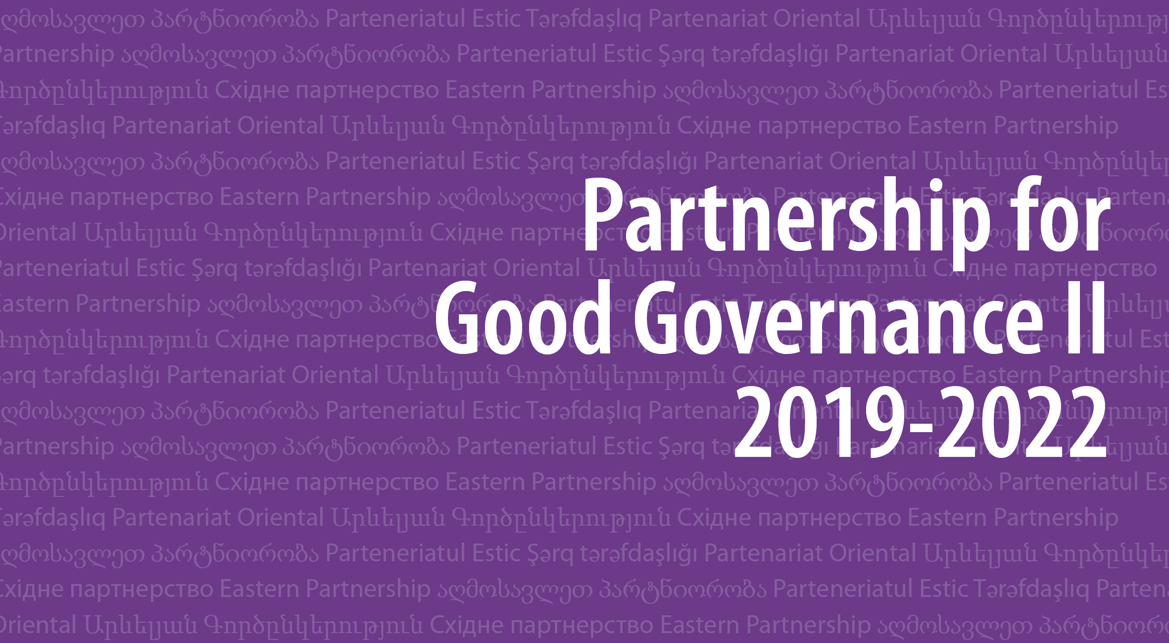 Partnership for Good Governance (Phase II)