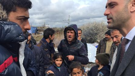 Statement on the risk of a new humanitarian disaster on another Balkan border - Tabanovce