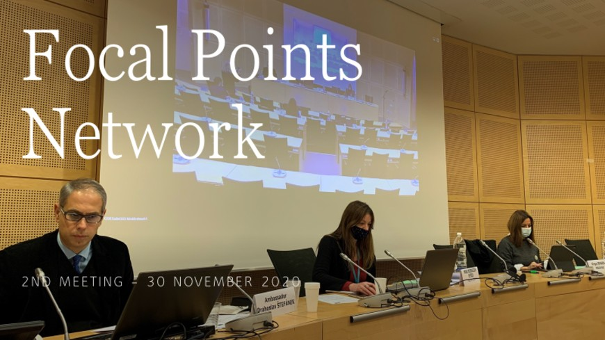 SRSG Štefánek hosted 2nd meeting of Focal Points Network on migration