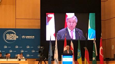 Council of Europe participates in the first Global Refugee Forum in Geneva