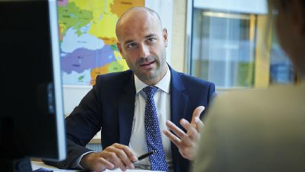 The Secretary General's Special Representative on migration and refugees, Tomáš Boček, completes his mandate