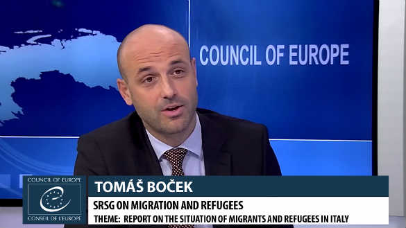 How can the Council of Europe help Italy to ease the situation of refugees and other migrants?