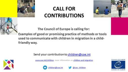 Round table on child-friendly information and call for contributions