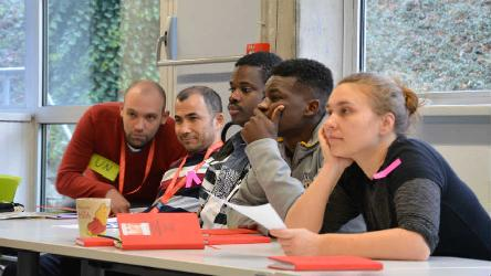 Council of Europe youth department launched a project on social inclusion of young refugees