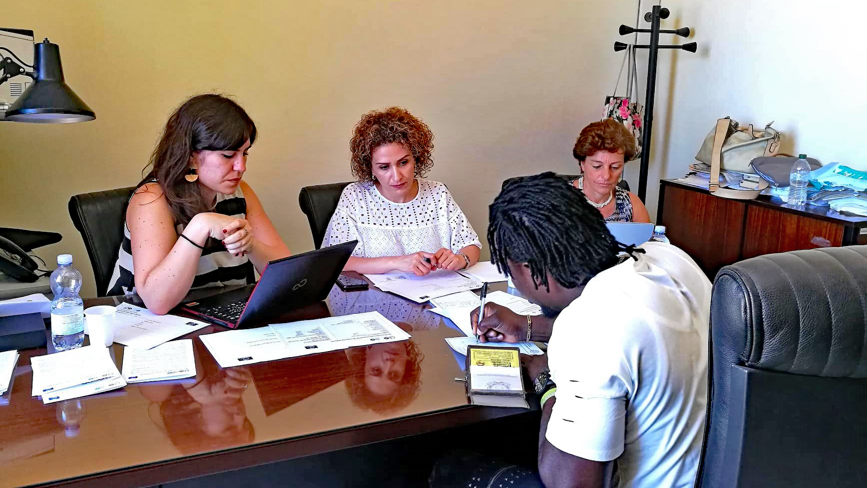 "Assessment session in Italy: New Phase ""European Qualifications Passport for Refugees (EQPR)"""