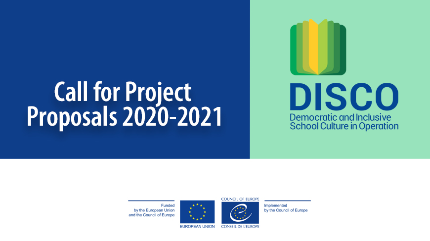 DISCO: The Call for Project Proposals 2020-2021 is out!