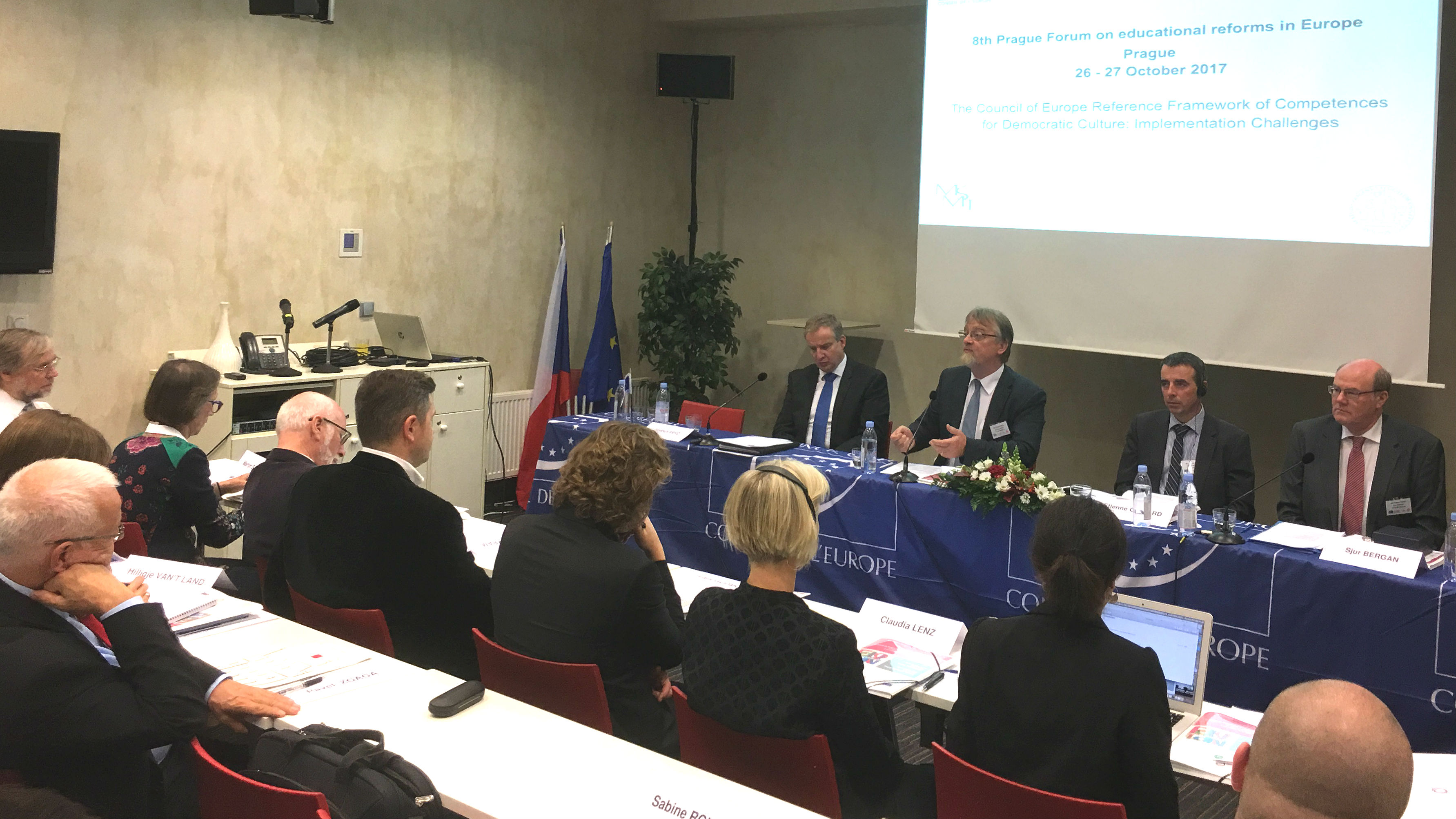 New Reference Framework of Competences for Democratic Culture (RFCDC) launched in Prague