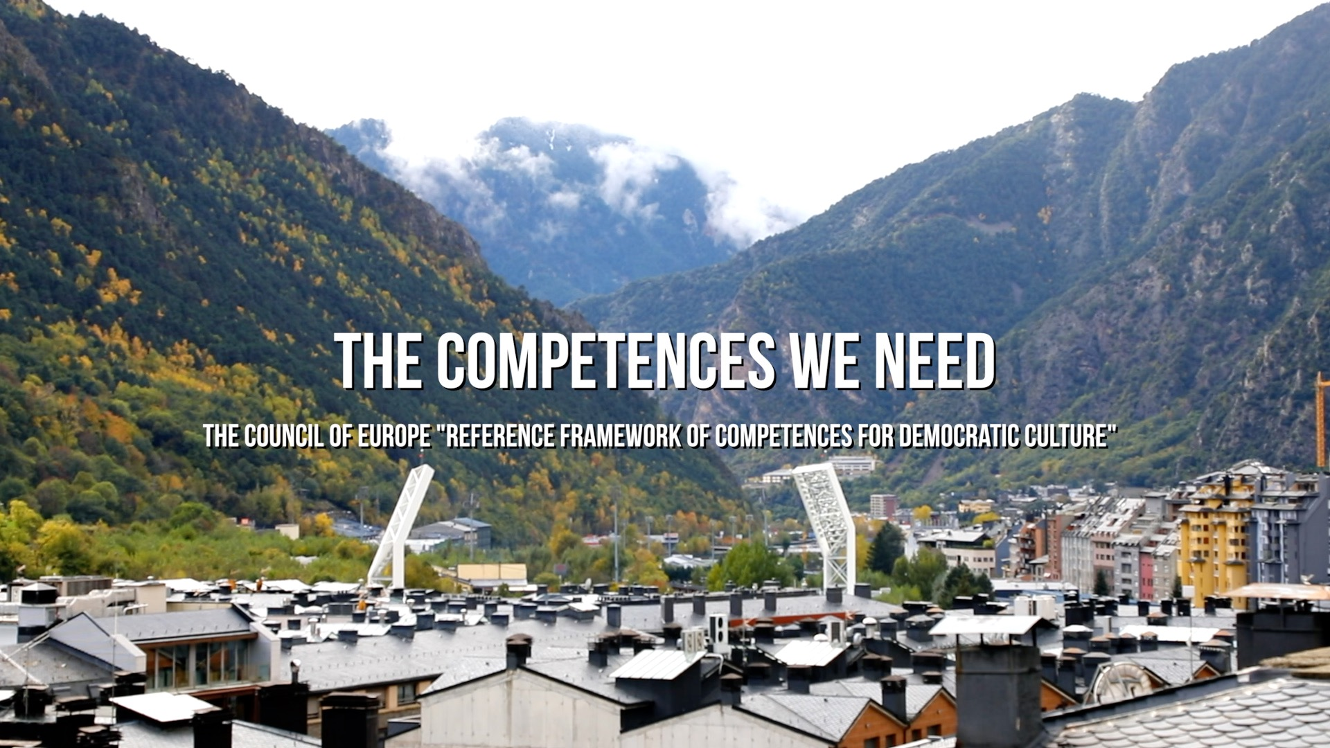 """The Competences we need"" - Documentary on the Council of Europe Reference Framework of Competences for Democratic Culture (RFCDC)"
