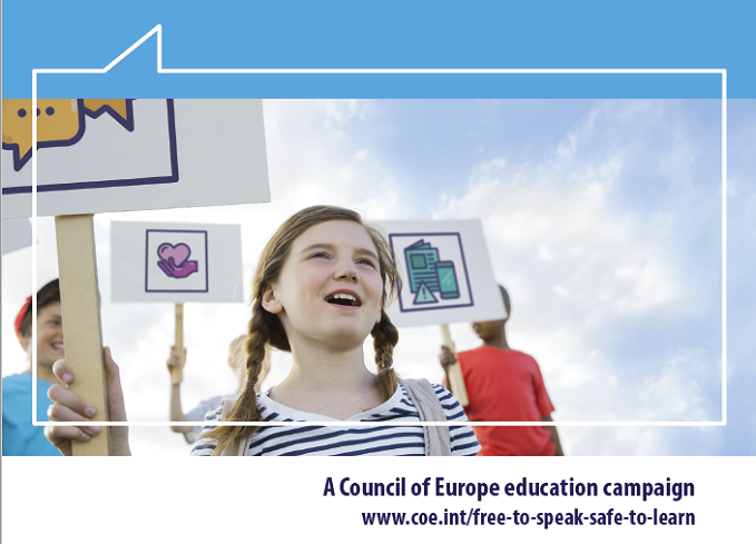 "Launch of the new Council of Europe Campaign ""Free to Speak - Safe to Learn"" Democratic schools for All"