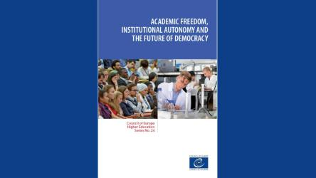 New Council of Europe book on Academic Freedom, Institutional Autonomy, and the Future of Democracy