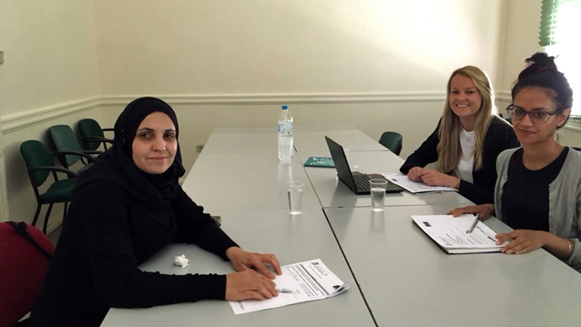 Photo 1 - News item - Second evaluation for European Qualification Passport for Refugees held in Greece