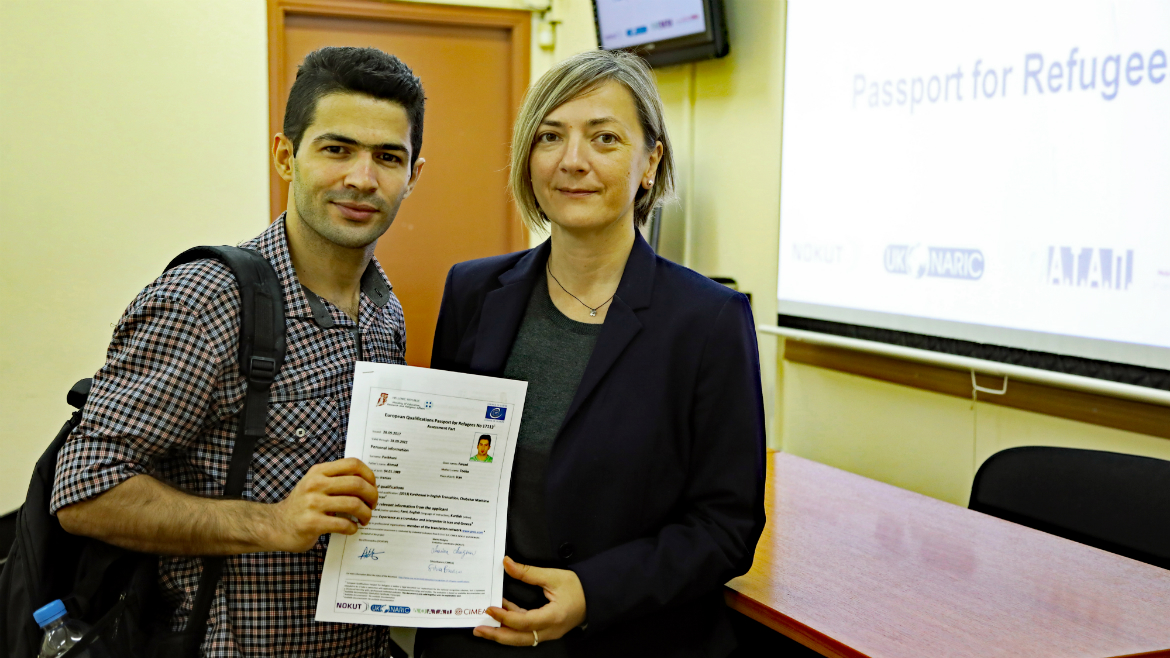 Third evaluation session held in Greece - European Qualifications Passport for Refugees - Photo 14