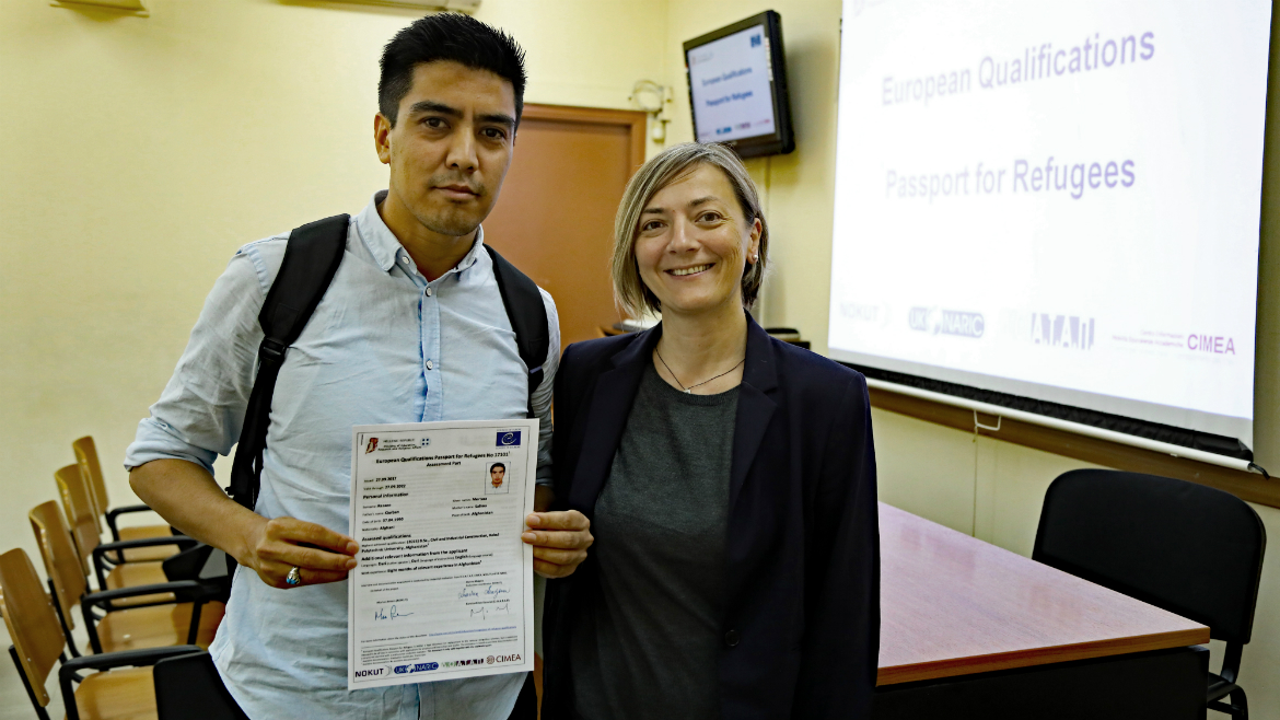 Third evaluation session held in Greece - European Qualifications Passport for Refugees - Photo 17
