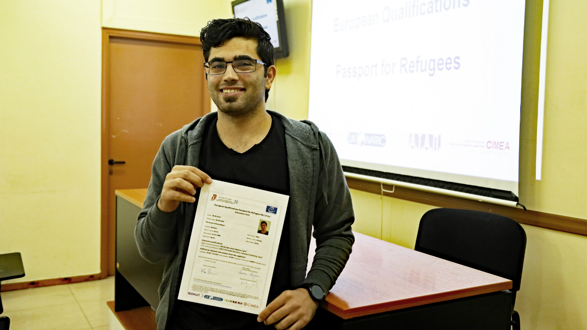 Third evaluation session held in Greece - European Qualifications Passport for Refugees - Photo 19