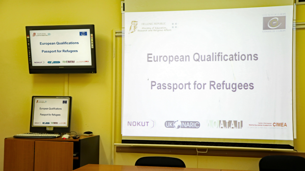 Third evaluation session held in Greece - European Qualifications Passport for Refugees - Photo 20