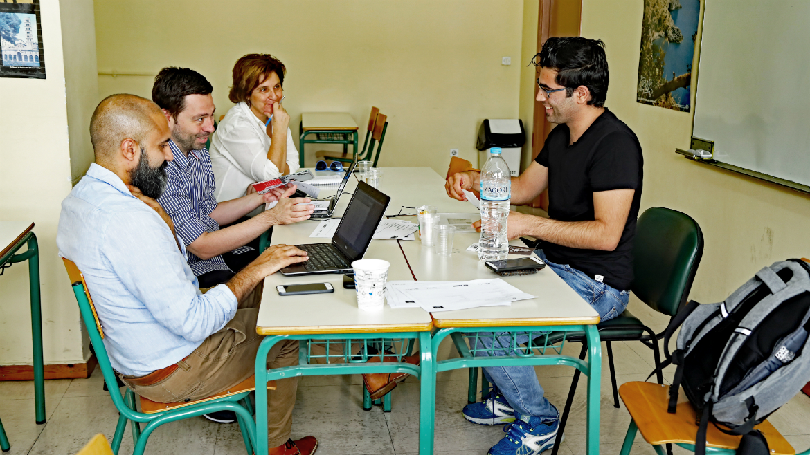 Third evaluation session held in Greece - European Qualifications Passport for Refugees - Photo 8