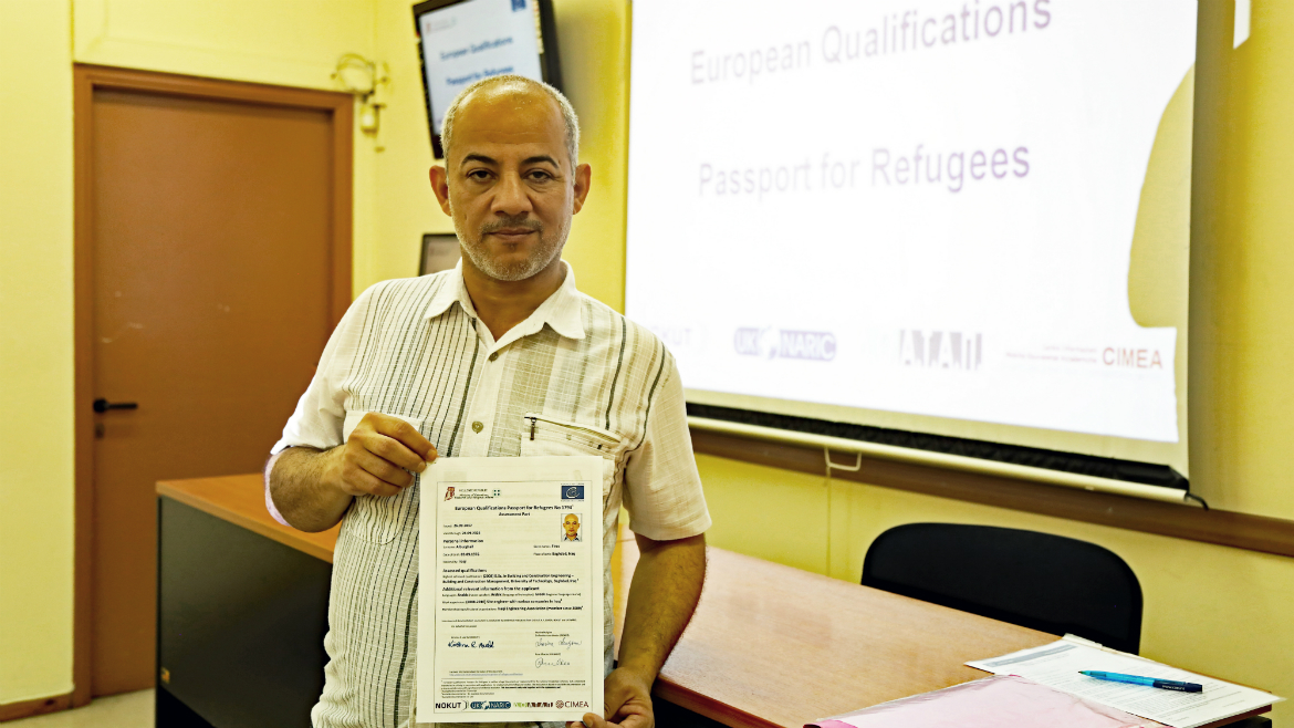 Third evaluation session held in Greece - European Qualifications Passport for Refugees - Photo 9