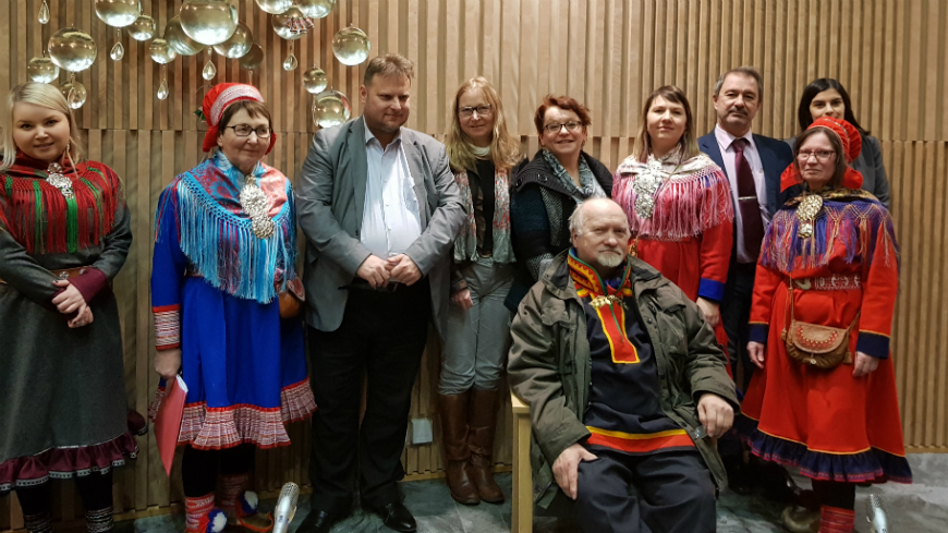 COMEX meets Sami representatives