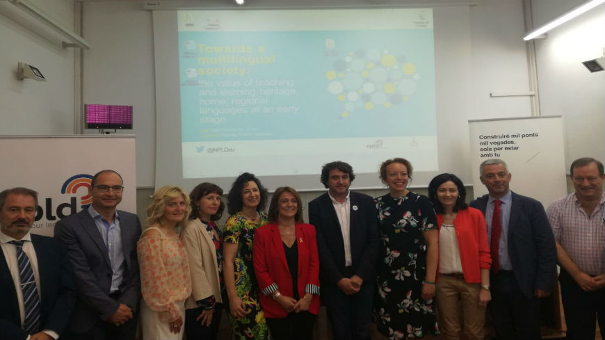 Spain conference: Towards a multilingual society
