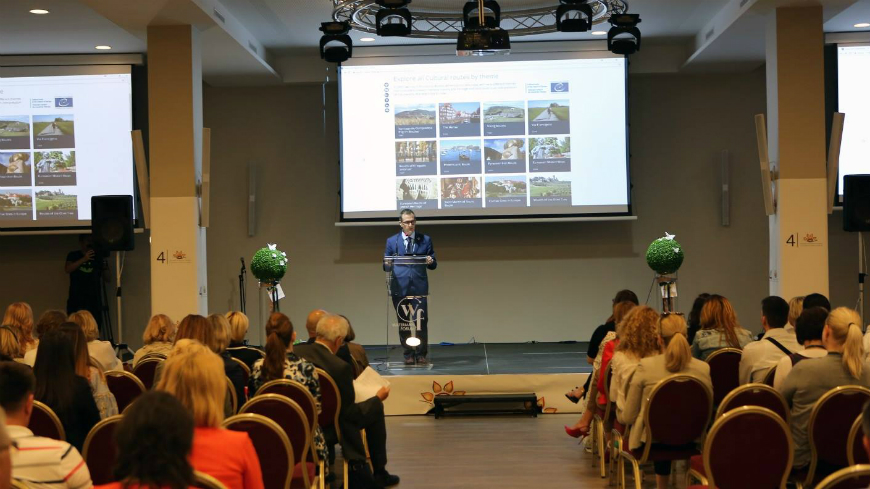 Croatia: Cultural Routes of the Council of Europe presented at the 4th Congress of Rural Tourism
