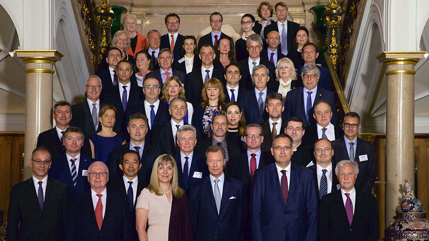 Visit of the 47 Ambassadors of the Council of Europe and Observers in Luxembourg