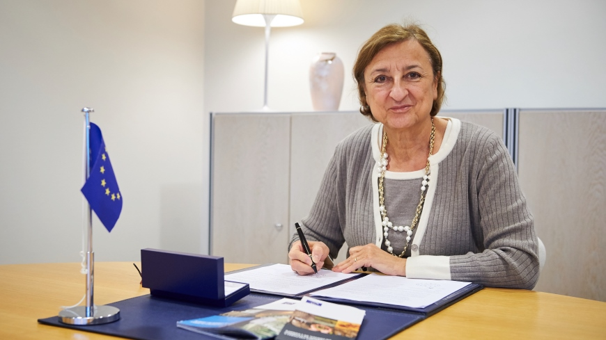 Signature of the 1.1 Million EUR Grant Agreement European Union – Council of Europe