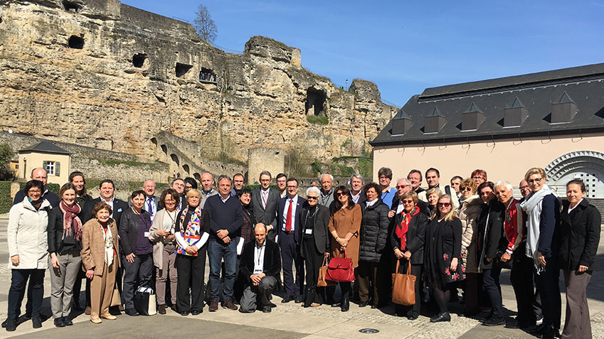 European Route of Jewish Heritage - Annual meeting in Luxembourg