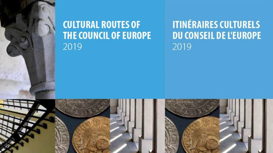 New edition of the Cultural Routes of the Council of Europe brochure, 2019 update