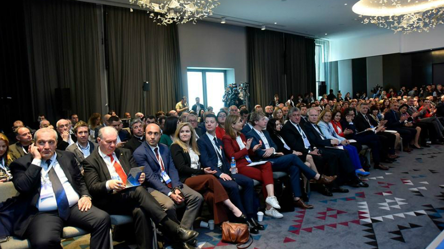 "Georgia: the Cultural Routes of the Council of Europe presented at the Forum ""Connecting cultures-shaping a creative future for Georgia and Europe"""