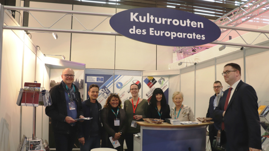 Cultural Routes presented at the world's biggest tourism fair in Berlin