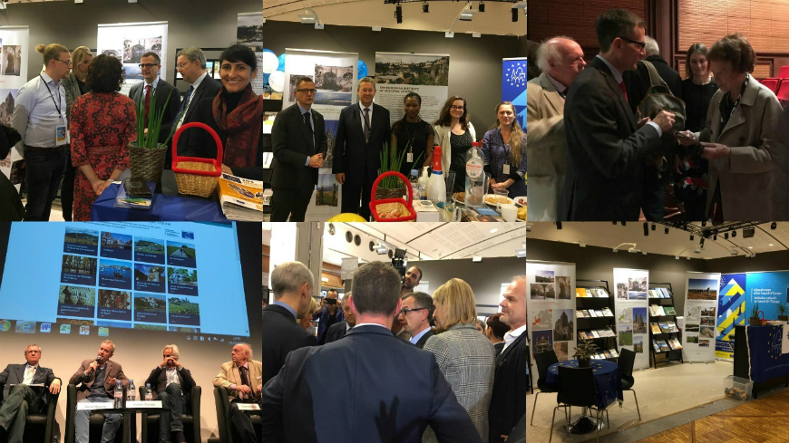 France : Presence of the Council of Europe at the International Heritage Fair 2018