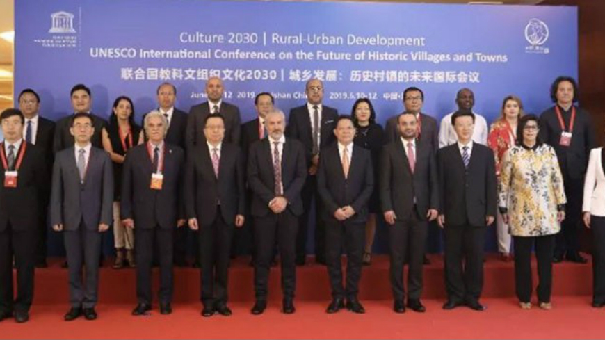 UNESCO: Cultural Routes of the Council of Europe present at International Conference on 'Culture 2030 | Rural-Urban Development: The Future of Historic Villages and Towns' in China