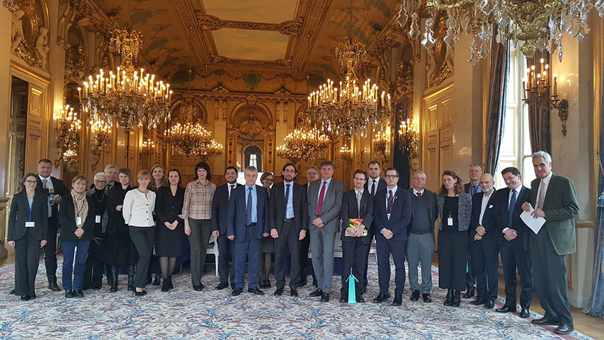 Participation of the Cultural Routes programme to the 1st France-Belarus working group on tourism