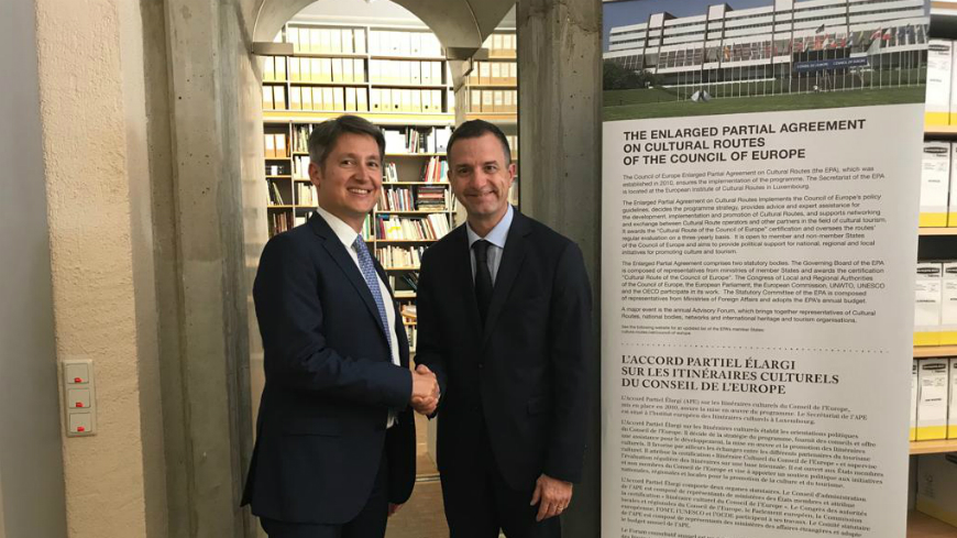 Austria : Deputy Permanent Representative visits the EPA Headquarters in Luxembourg