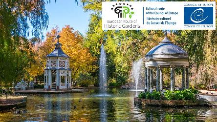 "European Route of Historic Gardens certified ""Cultural Route of the Council of Europe"""