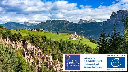 "Via Romea Germanica certified ""Cultural Route of the Council of Europe"""