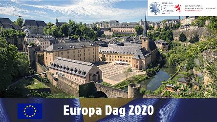 Luxembourg: Europe Day 2020, the European Institute of Cultural Routes participates in online celebrations