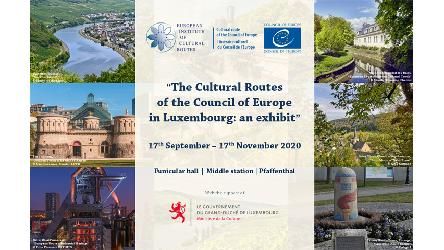 Luxembourg: the European Institute of Cultural Routes contributes to 2020 European Heritage Days activities