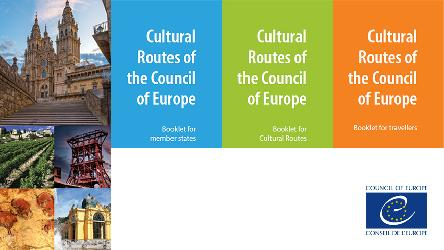 Branding of the Cultural Routes of the Council of Europe: 3 new booklets now available