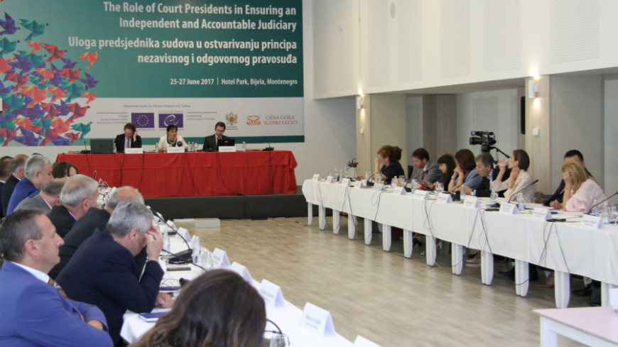 "Seminar ""The Role of Court Presidents in Ensuring an Independent and Accountable Judiciary"""