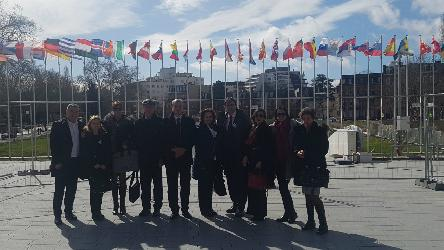 Study visit to the Council of Europe headquarters