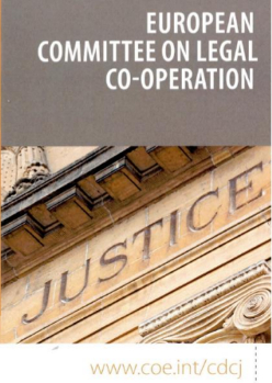 European Committee on Legal Co-operation (CDCJ)